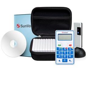 kit Sistema di votazione elettronica SunVote e tastierini di votazione