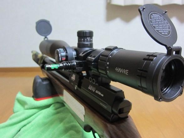 「PCPエアーライフル(プリチャージ空気銃)用ライフルスコープ【HAWKE  SIDEWINDER  30 4-16 ×50 SF】を選んだ理由」