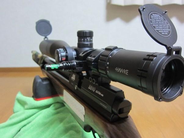 新人猟師が教える「ライフルスコープ【HAWKE SIDEWINDER 30 4-16 ×50 SF】を選んだ理由」:エアライフル用スコープ