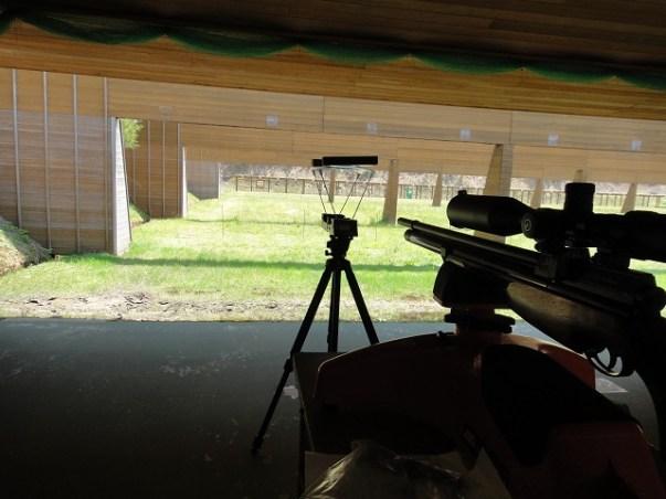 新人猟師が教える「エアアームス【S510】の弾速をクローニーで測定」: 医王山射撃場でプリチャージ空気銃の弾速測定