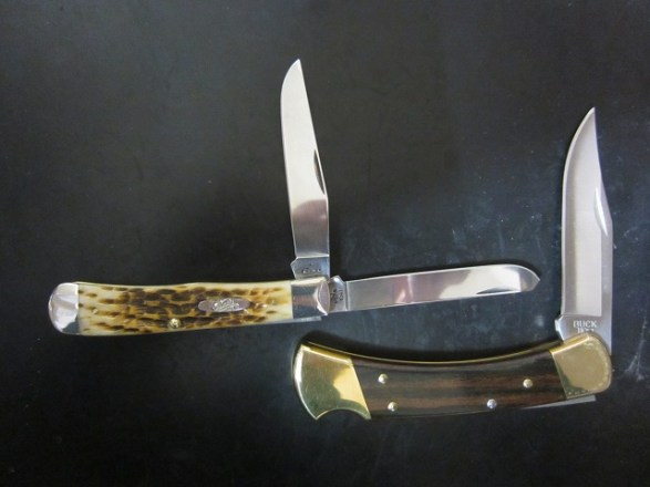 【ハンター用ナイフ雑感】:定番クラシック_ナイフ:『ケース_トラッパー』『バック_110_フォールディングハンター』