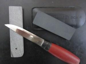 【ナイフ研ぎ】モーラ ナイフ(スカンジ グラインド)の『回転研ぎ』について