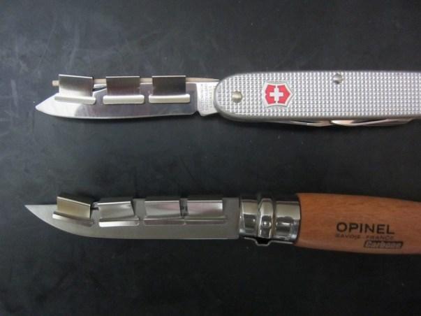 【ナイフ研ぎ】ビクトリーノックスのスイスアーミーナイフやオピネルナイフを安価かつ簡易に研ぐ方法 : ナイフ初心者向け