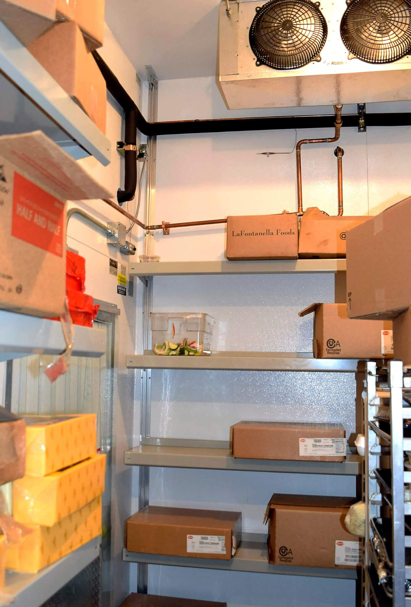 Walk In Cooler Shelving by EZ Shelving Systems Inc