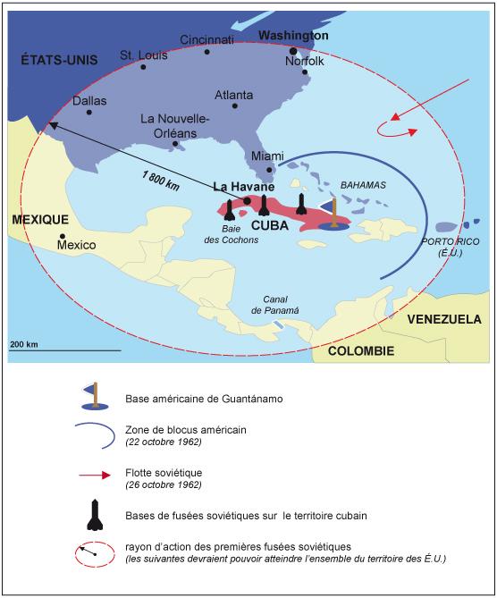 Crise Des Fusées De Cuba : crise, fusées, Étude, Crise, Maxicours