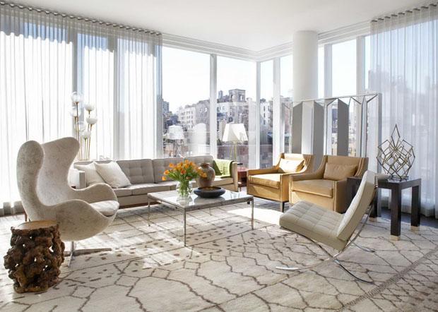 Design icnico e estilo conservador em NY  Casa Vogue