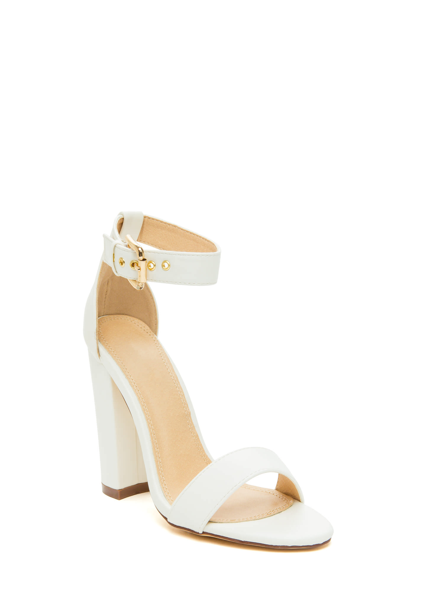 Strappy Wedding Shoes