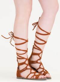 Knotty By Nature Gladiator Sandals GREY BLACK TAN WINE ...