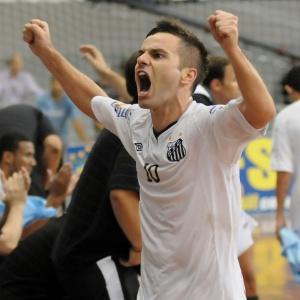 ... Falcão  Luciano Bergamaschi CBFS Integrante do time do Santos campeão  da Liga Futsal ... fd85e4b0c156d