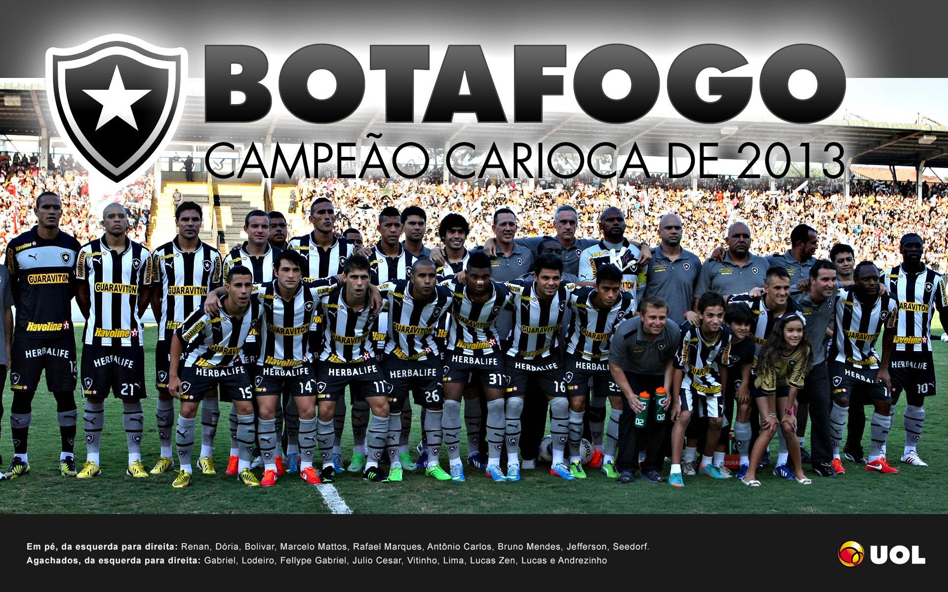 Botafogo  campeo do Estadual do Rio 2013  Psteres  UOL Esporte
