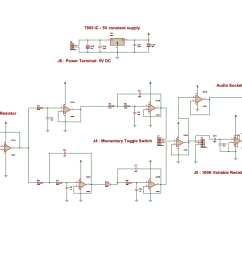 full circuit of electronic stethoscope e marufahmad com bell of stethoscope stethoscope diagram circuit diagram [ 1089 x 767 Pixel ]