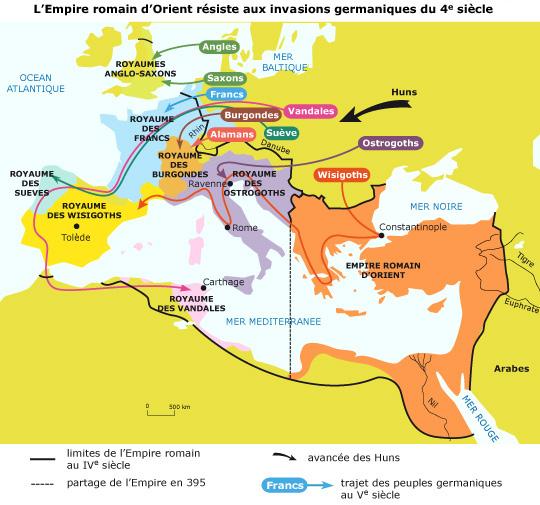 """Résultat de recherche d'images pour """"carte empire romain empire byzantin"""""""