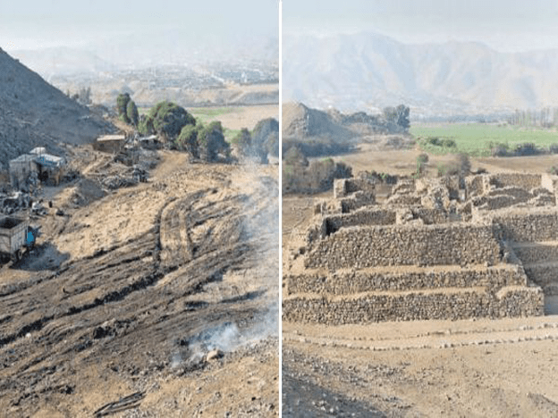 5,000-year-old pyramid destroyed in Lima