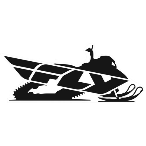 $6.63 Fly Racing Snow Logo Sticker Decal #198914