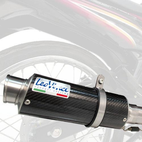 leo vince standard mount gp corsa racing slip on exhaust for kawasaki ninja 300