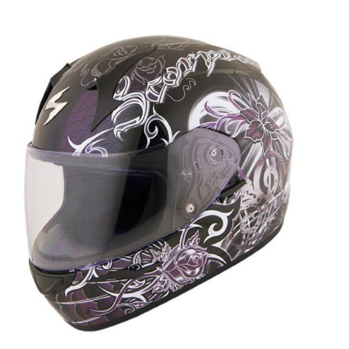 14995 Scorpion Womens EXOR410 Orchid Full Face Helmet 169640