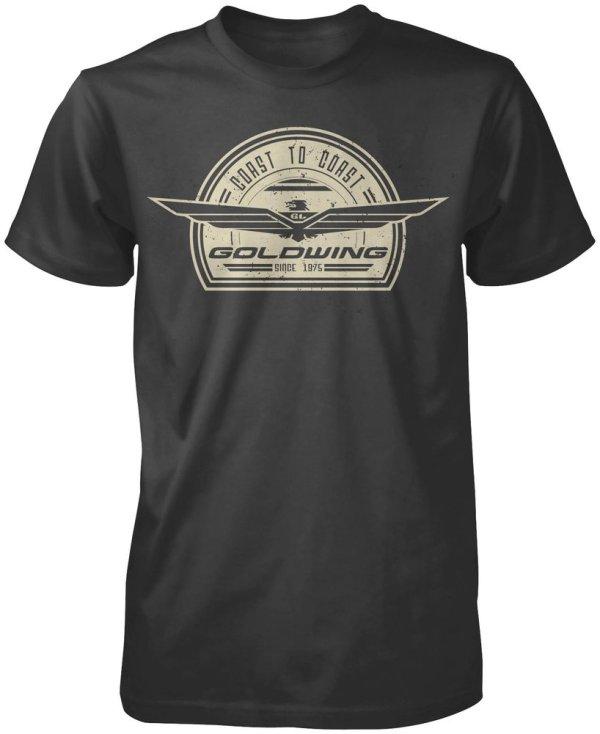 Honda Mens Goldwing Retro T-shirt 2013