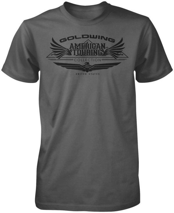 Honda Mens Goldwing Touring Collection T-shirt 2013