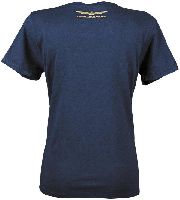 Honda Womens Goldwing Sparkle -neck T-shirt 2013