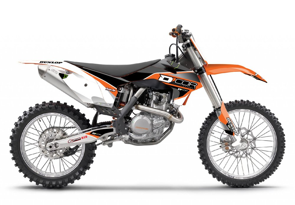 DCor Visuals Race Graphics & Trim Kit F/ KTM 85 SX 17/2014
