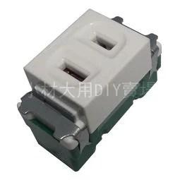 小材大用~Panasonic國際牌 星光系列 單插座 1113361 - 露天拍賣