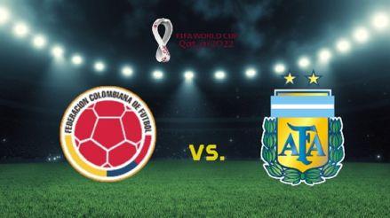 Desde Barranquilla, Colombia vs Argentina: hora y canal para ver EN DIRECTO el partido por la jornada 8 de las Eliminatorias Qatar 2022