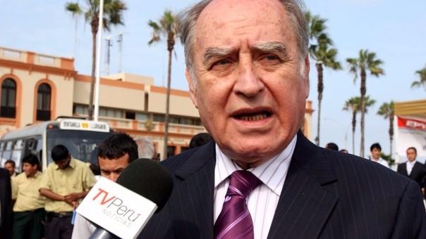Ántero Flores Aráoz postuló a la Presidencia de la República estas elecciones el Partido Orden. Antes fue ministro de Defensa en el Gobierno de Alan García.