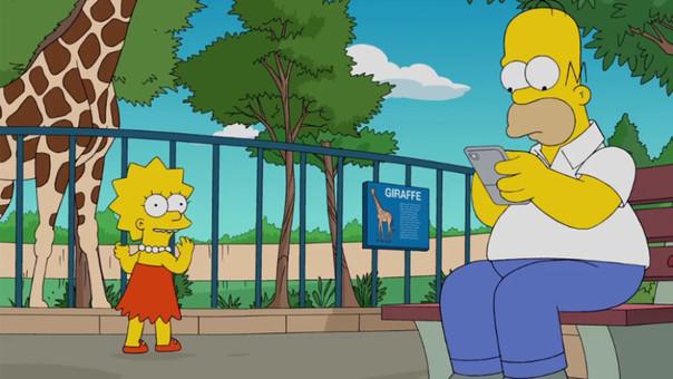 Los Simpson se unen a la fiebre del Pokémon Go!