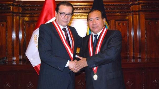 Víctor Ticona fue elegido en el 2014 en reemplazo de Enrique Mendoza.