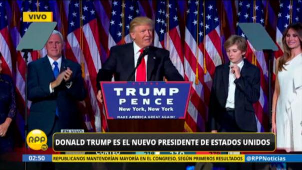 Donald Trump asumirá el cargo de presidente el próximo 20 de enero.