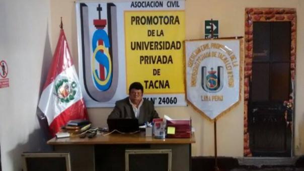 La Asociación Civil Promotora de la Universidad Privada de Tacna (extensión Moquegua) no está autorizada por la Sunedu.
