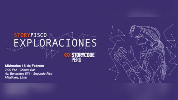 StoryCode Perú presentará proyectos de realidad virtual e interactivos