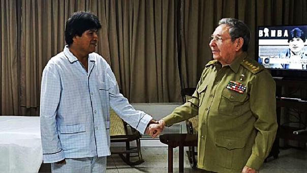 Resultado de imagen para EVO MORALES OPERADO EN CUBA