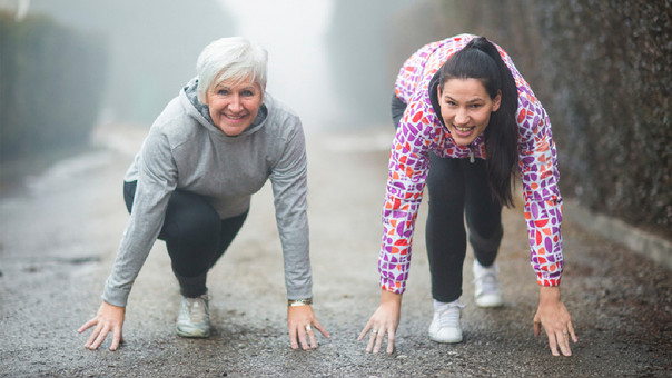 Nunca olvides abrigarte bien al salir de casa y al volver, antes y después de hacer ejercicio.