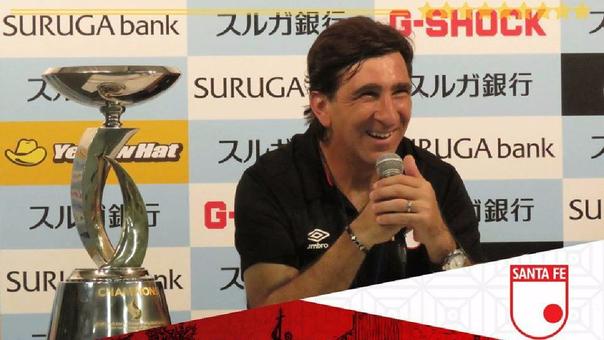 Gustavo Costas es el director técnico de Independiente Santa Fe.