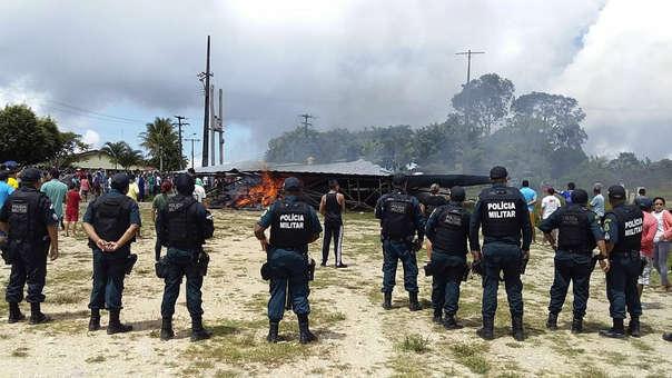 La Policía reforzó la seguridad en la zona fronteriza.