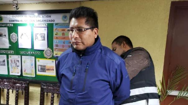 Walter Aduviri fue capturado en el distrito de La Victoria.