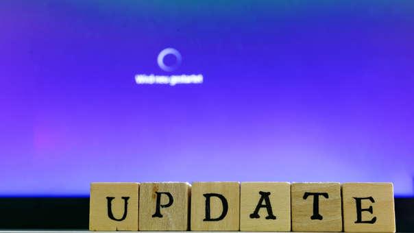 El update es necesario para mantener tu computadora segura.