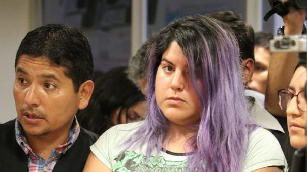 Andrea Aguirre permanece en condición de detenida por este caso.