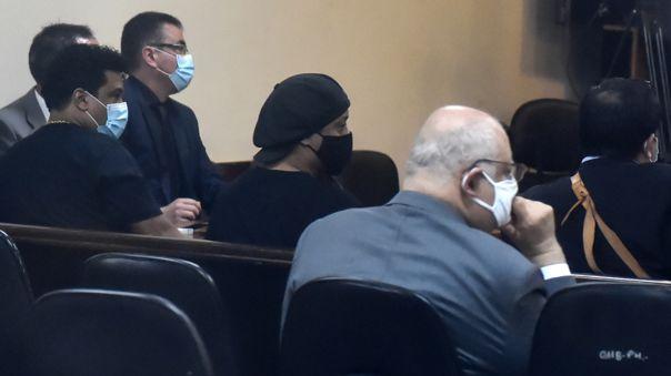 Ronaldinho en el juzgado.