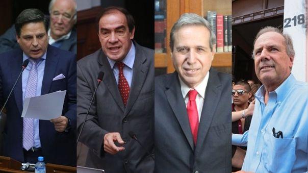 Edmundo del Águila, Yohnny Lescano, Luis Enrique Gálvez y Alfredo Barnechea competirán por ser el candidato oficial de Acción Popular.