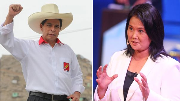 Pedro Castillo y Keiko Fujimori debatirán este sábado.