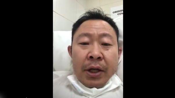 Kenji Fujimori publicó un corto video en Twitter para informar que dio positivo al nuevo coronavirus.