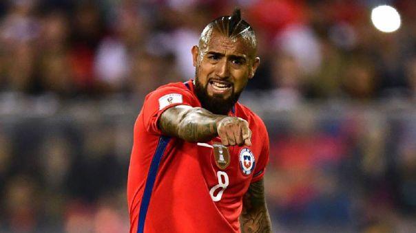 Arturo Vidal no estará en el partido de Argentina contra el elenco chileno.