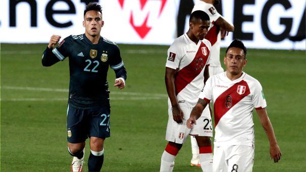 Perú perdió 1-0 con Argentina por la fecha 12 de las Eliminatorias Qatar 2022