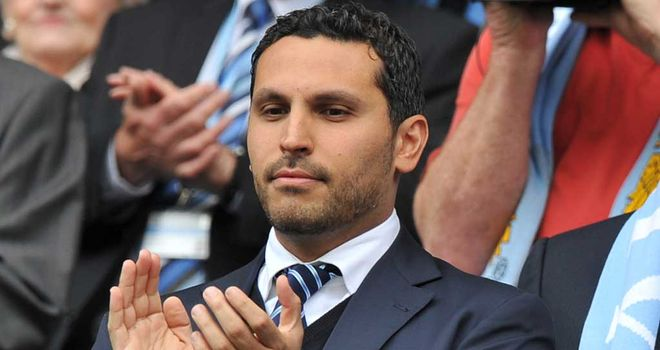 Khaldoon Al Mubarak: Recognises that Manchester United still set the benchmark for success