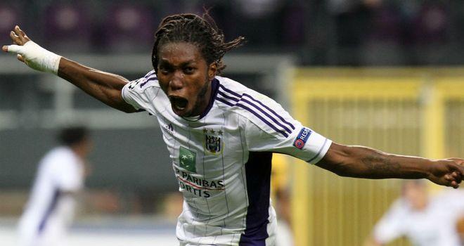 Dieumerci Mbokani Transfer news Anderlecht39s Dieumerci Mbokani hopes to