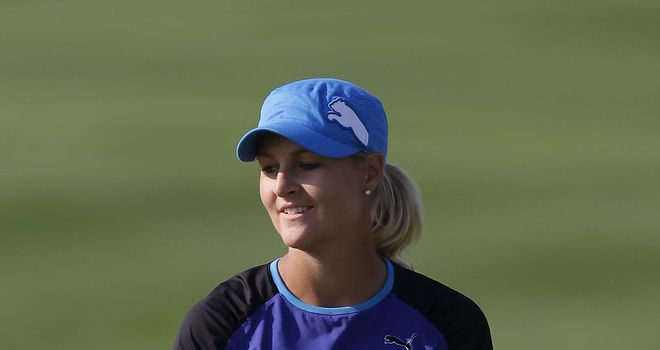 Anna Nordqvist: Keeps lead in Thailand