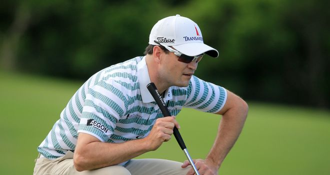 Zach Johnson: Three shots clear of a tight chasing pack in Hawaii
