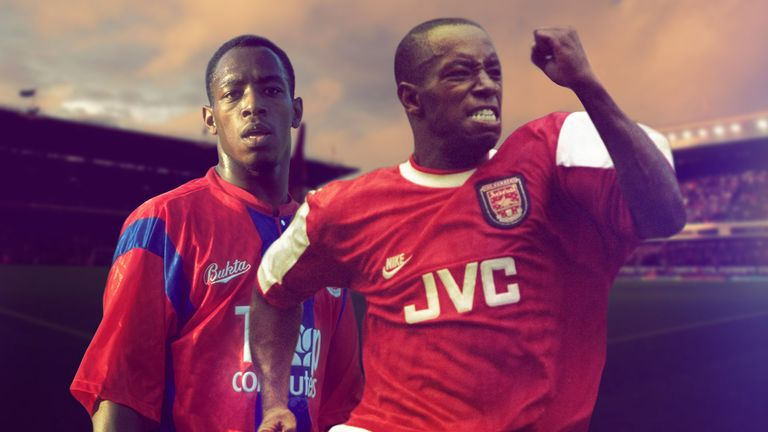 Image result for ian wright palace to arsenal